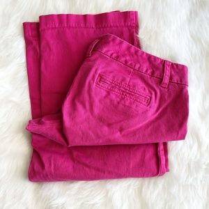 Tommy Hilfiger - Pink Chino Capris